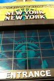 Ingång av nya York-nya York Arkivfoto