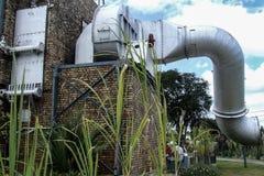 Ingång av Sugar Museum i Mauritius Royaltyfri Fotografi