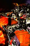 Ingång av transformatorer ritten 3D Arkivfoton