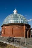 Ingång för Greenwich fottunnel Royaltyfri Foto