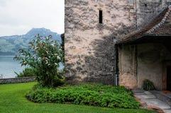 Ingång för kyrklig byggnad Royaltyfri Foto