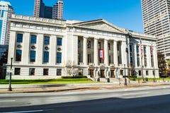 Ingång för Ohio Statehousesenat arkivfoton