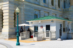Ingång för USA-Kapitolium-senat personal Royaltyfria Bilder