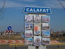 Ingång i Calafat Royaltyfria Foton
