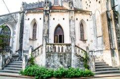 Ingång i en Christian Monastery Arkivfoto