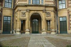 Ingång till Art Deco Palace i Eltham, Greenwich, London Fotografering för Bildbyråer