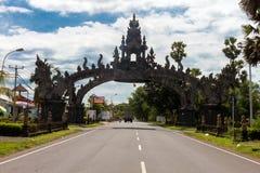 Ingång till Bali Royaltyfria Bilder