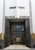Ingång till Banco populärt för högkvarter av Puerto Rico Royaltyfri Bild