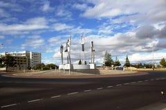 Ingång till Bunbury västra Australien arkivfoton