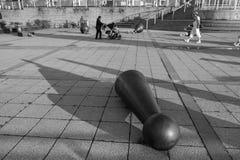 Ingång till den baltiska Cewntren för samtida konst på Newcastle arkivfoto