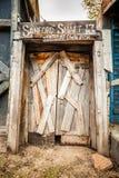 Ingång till den gamla minen Fotografering för Bildbyråer