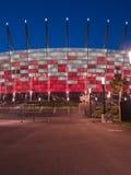 Ingång till den nationella stadionen, Warsaw, Polen Fotografering för Bildbyråer