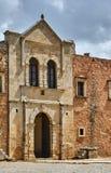 Ingång till den ortodoxa kloster Arkivbild