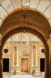 Ingång till den ortodoxa kloster Arkivfoton
