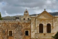 Ingång till den ortodoxa kloster Royaltyfria Bilder