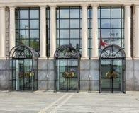 Ingång till den Zurich operahuset Royaltyfri Fotografi