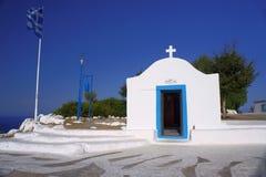 Ingång till det ortodoxa kapellet Royaltyfri Bild