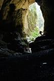 Ingång till en grotta Royaltyfri Fotografi