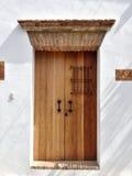 Ingång till ett kolonialt hus från 1600. Royaltyfri Fotografi