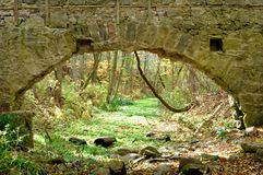 Ingång till Fairyland Arkivbild