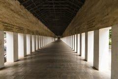 Ingång till kloster Royaltyfri Foto
