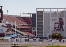 Ingång till Levi's stadion och placering Royaltyfri Fotografi