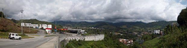 Ingång till Manizales royaltyfri foto
