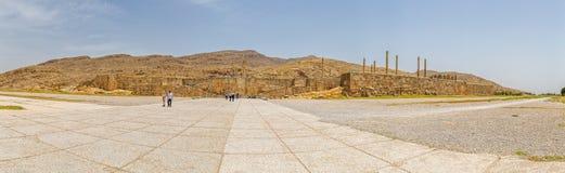 Ingång till Persepolis den forntida staden Arkivbild