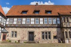 Ingång till slotten i Blomberg Royaltyfri Fotografi