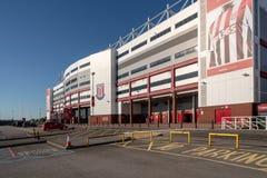 Ingång till Stoke City fotbollsarena royaltyfri bild