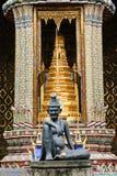 Ingång till Wat Phra Kaew i Bangkok Royaltyfri Foto