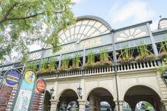 Ingången av Europa parkerar i rost, Tyskland Royaltyfri Foto