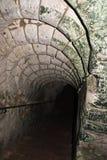 Ingången i Wellington Tunnels, underjordisk krita bryter sten, minnesmärken av striden av Arras 3 Arkivfoton