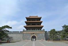 Ingången till gravvalvet av Hong Taiji Royaltyfria Bilder