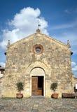 Ingångsfasaden av kapellet Royaltyfri Foto