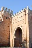 ingångskellah morocco Arkivbilder