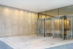 ingångskontor royaltyfria foton