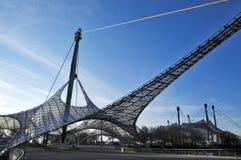 ingångsmunich olympic stadion till Arkivbild