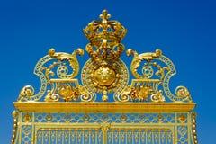 Ingångsport till Versailles Arkivbilder