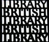 Ingångsporten av det brittiska arkivet Fotografering för Bildbyråer