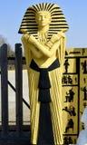 Ingångsstaty av en egyptier royaltyfri bild