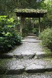 ingångsträdgård Arkivbilder