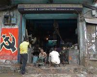 Ingénierie de basse technologie - (Kolkata - l'Inde, l'Asie) Photo libre de droits