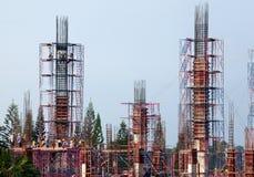 Ingénierie de construction de bâtiments photo libre de droits