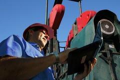 Ingénierie de pétrole et de gaz Photos libres de droits
