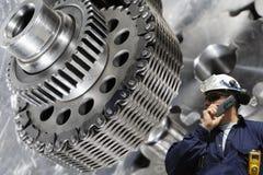 Ingénierie et machines images stock