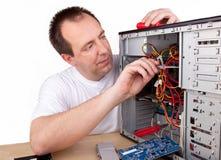 Ingénieur d'aide informatique Photo libre de droits