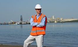 Ingénieur de docks photos libres de droits