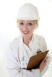 Ingénieur de la science de Madame Image stock