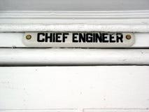 Ingénieur en chef de bateau Photos libres de droits